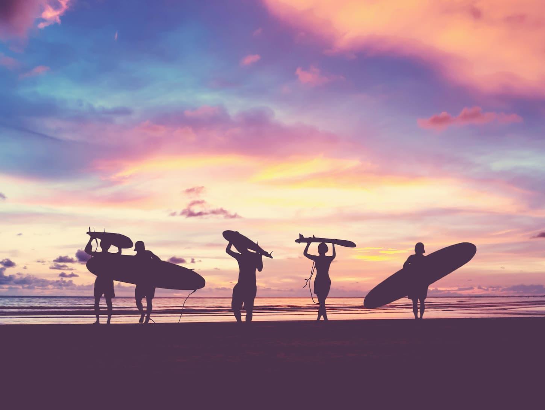 meilleurs spots de surf au monde