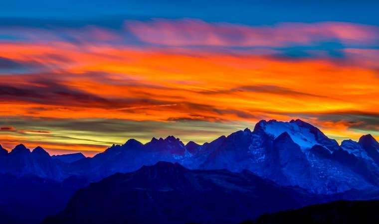 les plus beaux couchers de soleil au monde